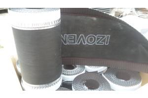 Лента коньковая izovent коричневый 8019 230 мм