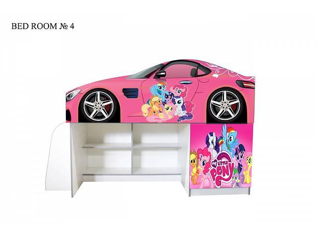 Ліжко-горище для дівчинки Мій маленький Поні- объявление о продаже  в Львові