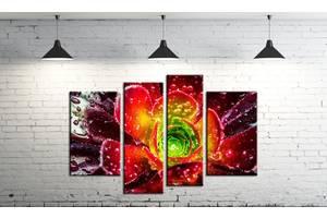 Модульная картина на холсте ProfART SM4-c160 120 х 80 см Яркий цветок (hub_pdKq54984)