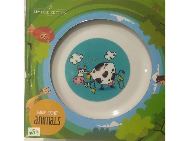 Набір посуди. 3 предмети. Limited edition. Дитячий посуд- объявление о продаже  в Львове