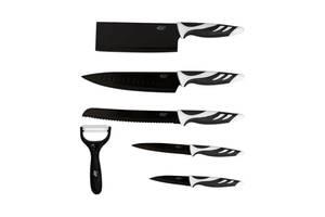 Набор ножей Cecotec 6 Pro Set Black CCTC-01024 (8435484010245)