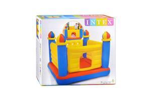Надувной батут Intex 48259 «Замок», 175x175x135