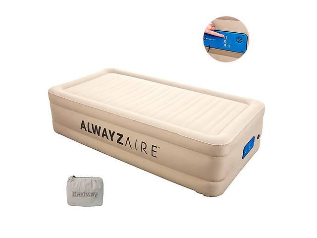 купить бу Надувной матрас-кровать BESTWAY 69037 со встроенным электронасосом  в Украине