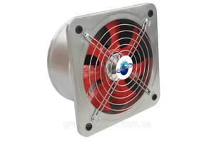 Настенный осевой вентилятор с обратным клапаном Турбовент НОК 400