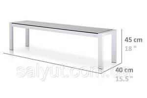 Обеденная скамейка в стиле LOFT (2200х400х450) (NS-967436223)