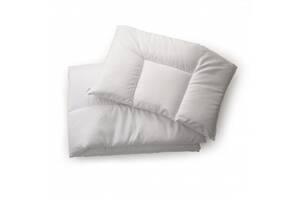 Одеяло и подушка Twins 100/150 для детской постели шерстепон, белое (6894)