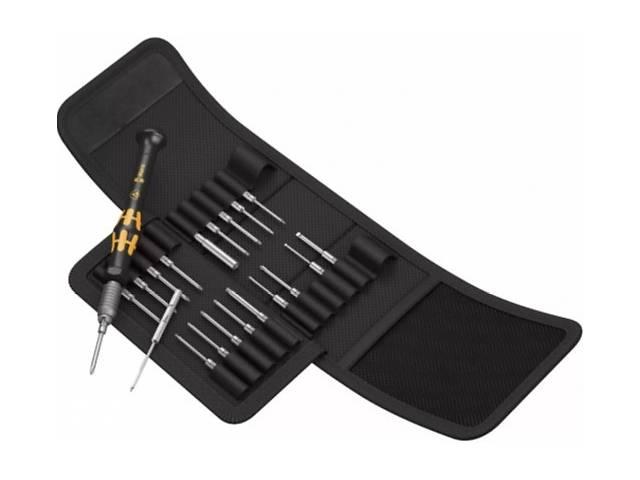 бу Отверточная рукоятка с насадками Wera Kraftform Kompakt Micro 21 ESD 1 (21 шт.) (24220) в Ивано-Франковске