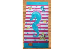 Пляжное полотенце Морской Конек