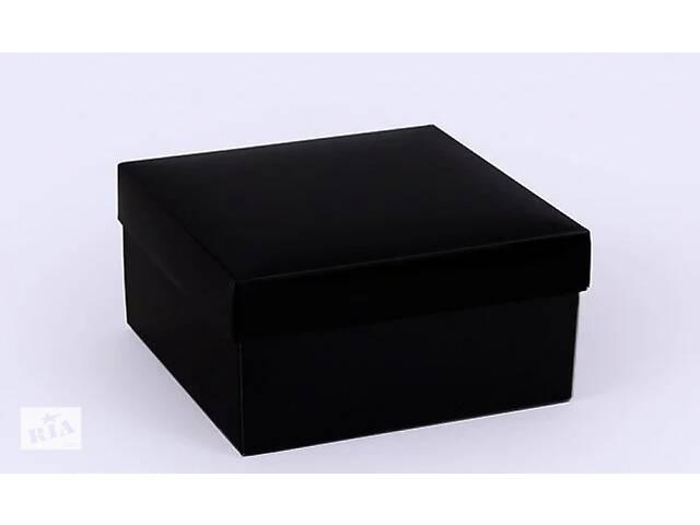 купить бу Подарочная коробка Grand черная 14х14х7 см в Киеве