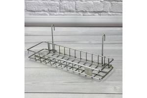 Полка прямоугольная для кухни и ванной 218030