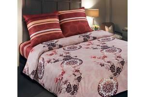Полуторное постельное белье из поплина 100% хлопок