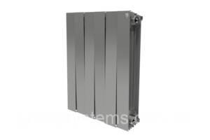 Радиатор Royal Thermo PianoForte 500/Silver Satin -10 секц.