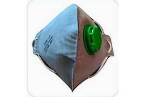 Респиратор с клапаном от вирусов максимальная защита FFP3