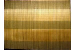 Серветка килимок підставка бамбукова, 40 см, тканинна основа. торг.
