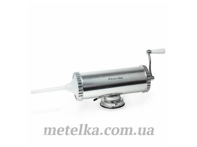 продам Шприц колбасный Kamille горизонтальный на 2,5 кг (6501) бу в Одессе