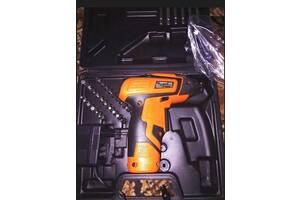 Шуруповерт отвертка аккумуляторная + набор инструментов Houselux