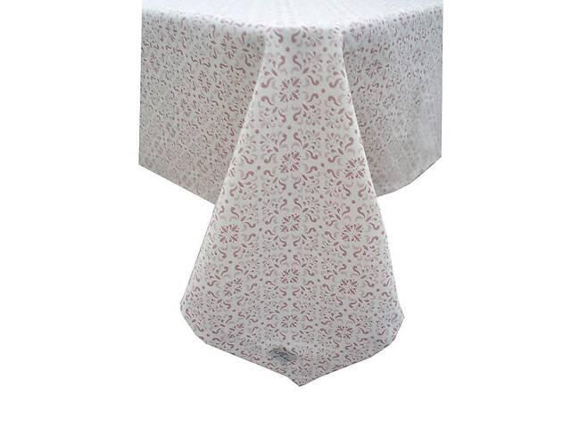 Скатерть Прованс Bella Розовый витраж (85х85 см)