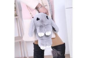 Сказочные меховые сумочки Кролики