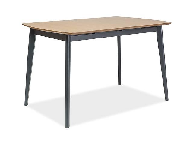 купить бу Стол обеденный Signal Мебель Vitro II 120(160) х 80 см Графит (VITROIIDGR120) в Одессе