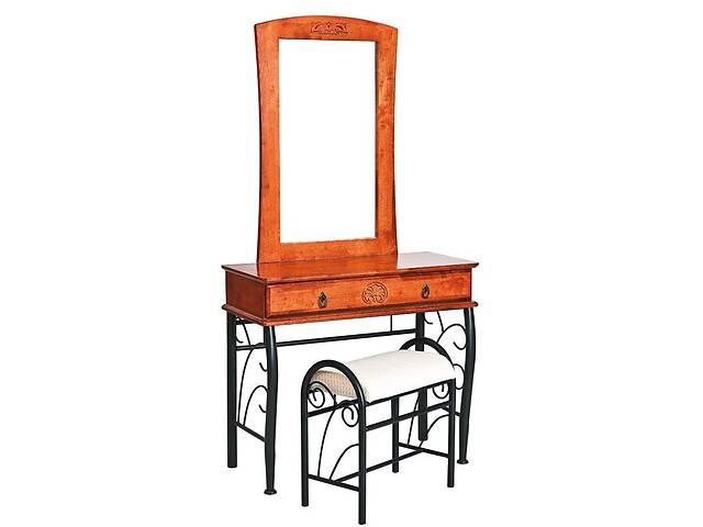 продам Стол туалетный со стульчиком Signal 1102 Античная черешня (1102) бу в Одессе