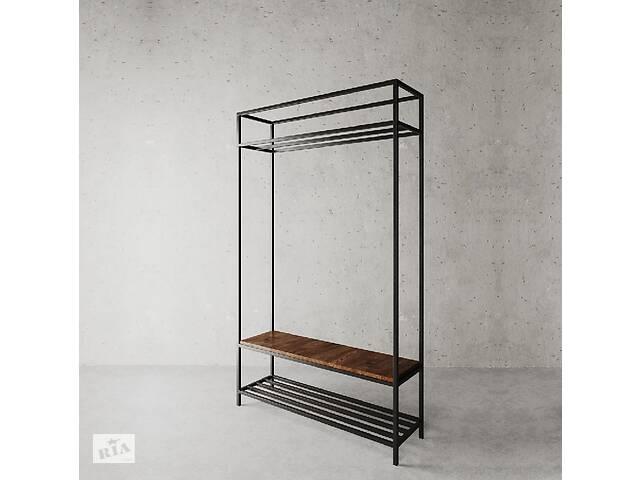 продам Стойка для одежды в стиле LOFT (Hanger - 76). Мебель в стиле лофт от производителя для дома, кафе, офиса бу в Киеве