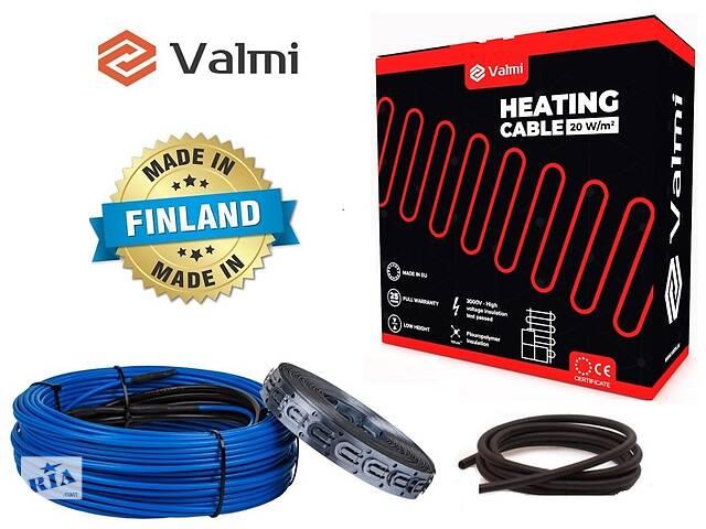 Тепла підлога Valmi 3 м²- 3,8 м² / 600 Вт (30м) тонкий двожильний нагрівальний кабель 20Вт/м під плитку- объявление о продаже  в Києві