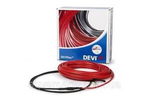 Теплый пол Deviflex 10T двужильный кабель с сплошным экраном, 1990W, 13.2 м.кв.(140F1233)
