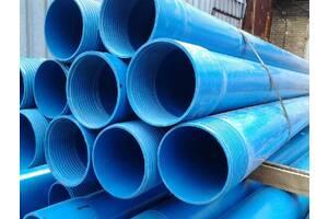 Труба обсадная для скважин пластиковая с резьбой купить не дорого в Украине, цена с завода производства