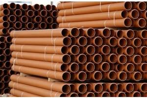 Труба ПВХ канализационная производство Украина, трубы для канализации