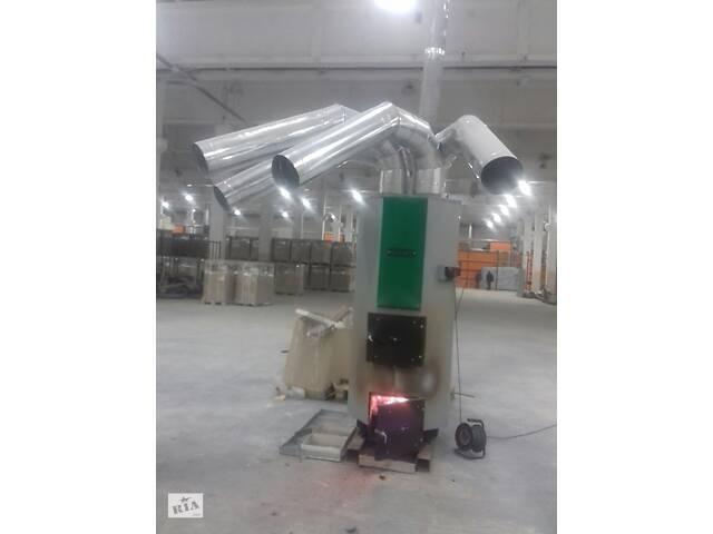 купить бу Твердотопливный теплогенератор АДЕС ТГ-35 (35 кВт) в Запорожье