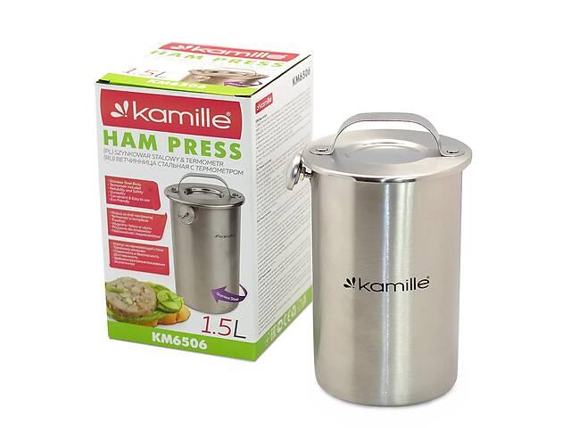 купить бу Ветчинница Kamille с термометром на 1.5 кг(6506) в Одессе