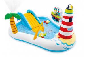 Игровой центр бассейн Intex Веселая рыбалка (57162)