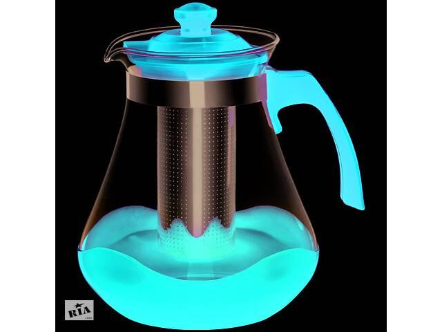 бу Заварочный чайник Con Brio CB-6215-Red 1.5 л красный в Одессе