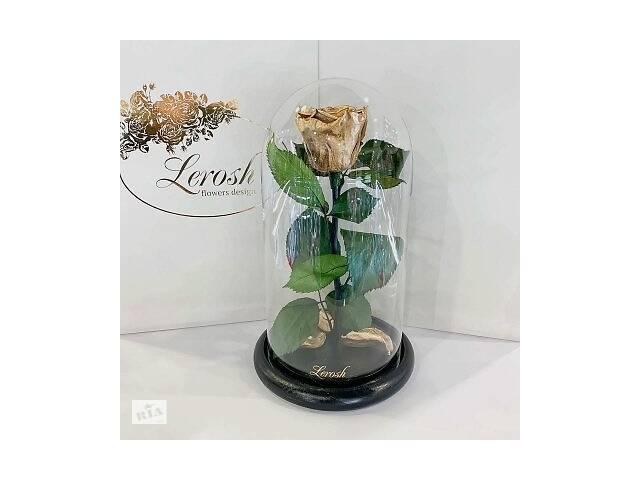 продам Золотая роза в колбе Lerosh - Classic 27 см SKL15-279532 бу в Харькове