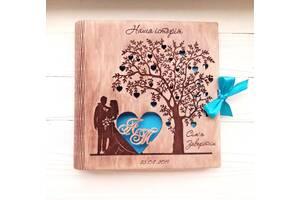 Альбом из дерева на годовщину или свадьбу. Из дерева