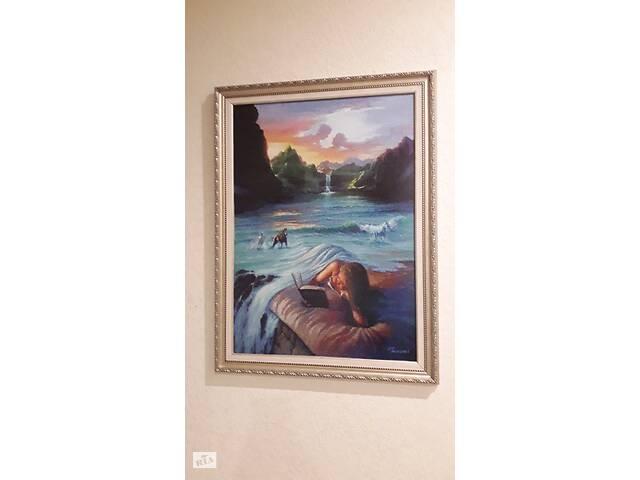 купить бу Картина вишита хрестиком  в Ивано-Франковске