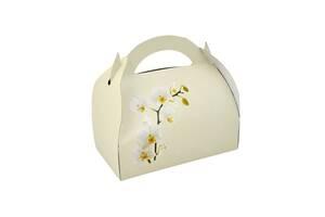Коробочка для гостей с орхидеей