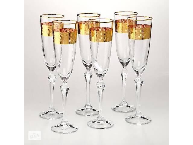 Набор бокалов для шампанского Crystalex 6 штук 674-120- объявление о продаже  в Днепре (Днепропетровск)