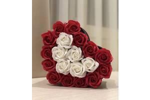Подарунок доя улюбленої. Композиція з троянд