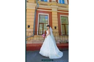 """Свадебное платье s с шлейфом, papilio """"лесные грезы"""""""