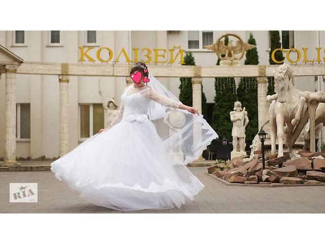 Весільна сукня пишна не вінчана/ Свадебное платье- объявление о продаже  в Хмельницькому