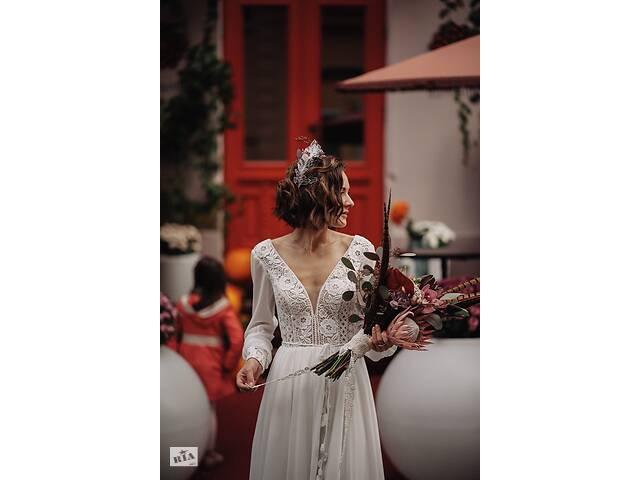 купить бу Свадебное платье в стиле бохо ariamo ayrica в Черновцах