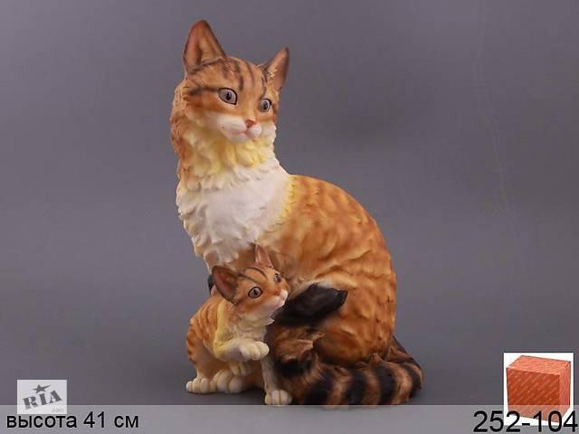 Статуэтка Кошка 41 см полистон 252-104