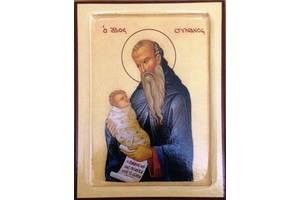 Икона Святой Стилиан Пафлагонский 200 х 150 х 18 мм
