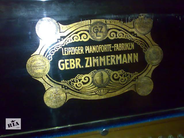 бу Антикварное пианино Gebr. Zimmermann в Киеве