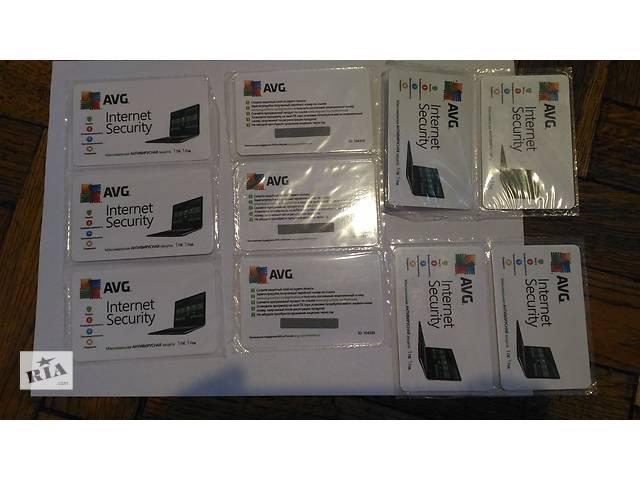 продам Антивирус AVG Internet Security Лицензия бу в Полтаве