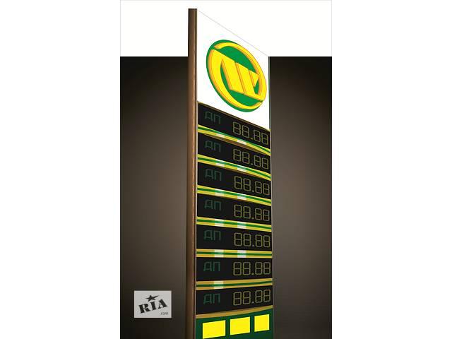 купить бу Анимированное табло для  стеллы АЗС  в Украине