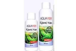 AQUAYER Кристалл, средство для чистой аквариумной воды