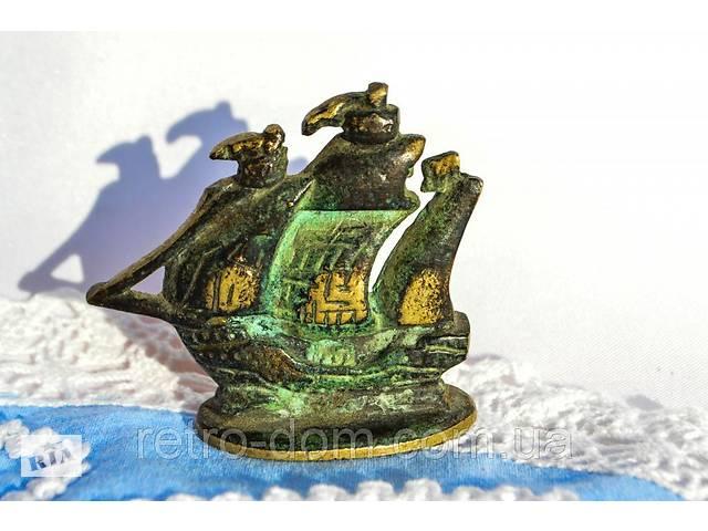 купить бу Коллекционная миниатюра,Корабль! Бронза! ENGLAND! в Дубно