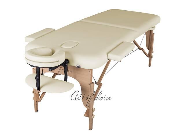 купить бу Ационная скидка 12 % на легкий, переносной, 2-х секционный  массажный стол  MIA. Бесплатная доставка Новой почтой в Киеве